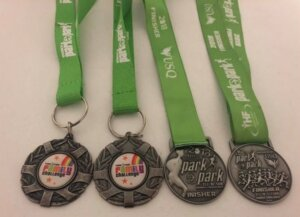 Amelias Medal Collection