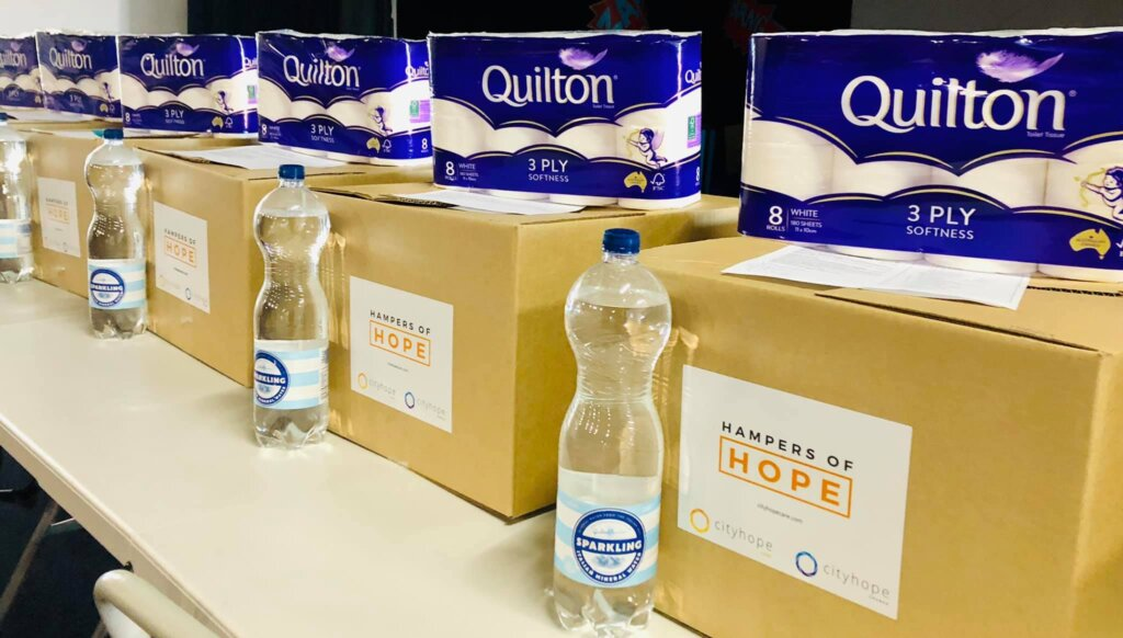 Care packs from Cityhope Care